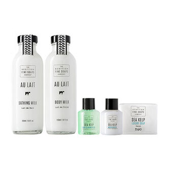Scottish Fine Soaps Au Lait Body Care Gift Set, , large