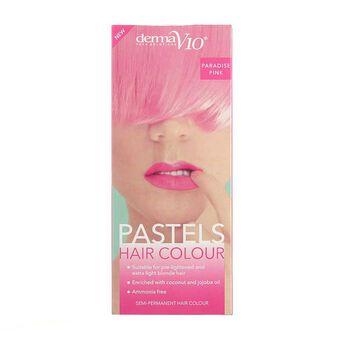Derma V10 Pastels Hair Colour Paradise Pink, , large