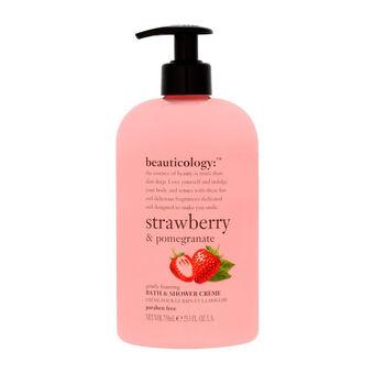 Baylis & Harding Beauticology Strawberry Shower Cream 750ml, , large