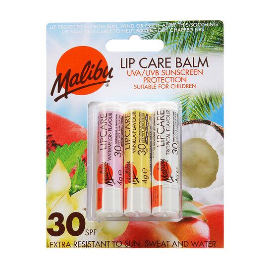 Malibu Lip Care Balm WVT SPF 30, , large