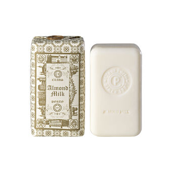 Claus Porto Double Almond Milk Soap Bar With Wax Seal 150g, , large
