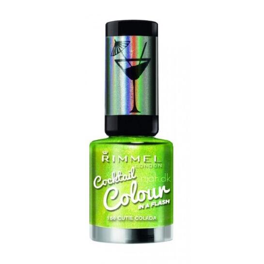 Rimmel Cocktail Colour In A Flash Nail Polish 8ml, , large