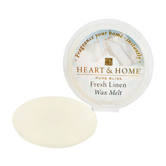 Heart & Home Wax Melt Fresh Linen 27g, , large