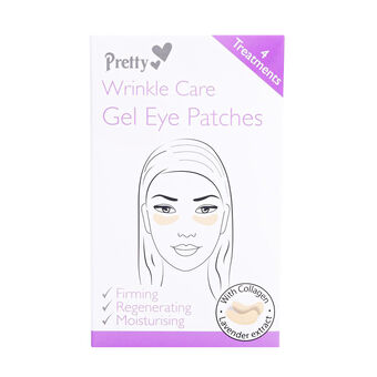 Pretty Wrinkle Care Gel Eye Patches 4, , large