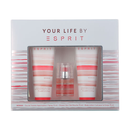 Esprit Your Life For Women Gift Set 15ml, , large