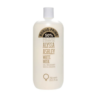 Alyssa Ashley White Musk Moisturising Shower Gel 750ml, , large