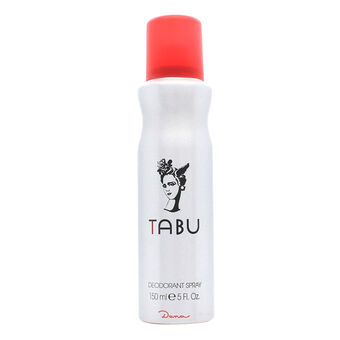 Dana Tabu Deodorant Spray 150ml, , large