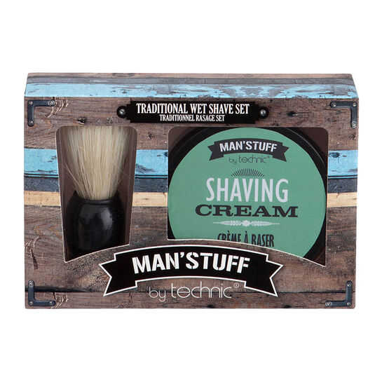 Technic Man'stuff Close Shave Gift Set, , large