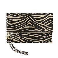 Roberto Cavalli Leopard Clutch Bag, , large