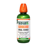 The Breath Co Fresh Breath Mouthwash Mild Mint 500ml, , large