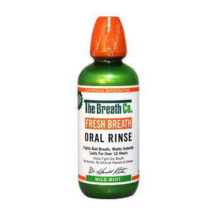 The Breath Co Fresh Breath Mouthwash Mild Mint 500ml, , large