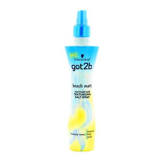 Schwarzkopf Got2b Beach Matt Texturizing Salt Spray 200ml, , large