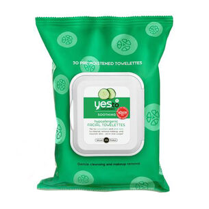 Yes To Cucumber Wipes Hypo Allergenic Pack 30wipes, , large