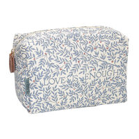 Heathcote and Ivory Morris & Co Large Cosmetic Bag, , large