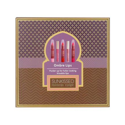 Sunkissed Moroccan Escape Ombre Lips Gift Set, , large