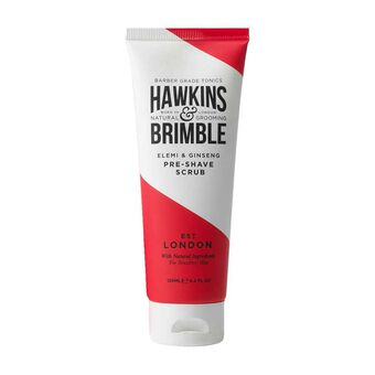 Hawkins & Brimble Pre Shave Scrub 125ml, , large