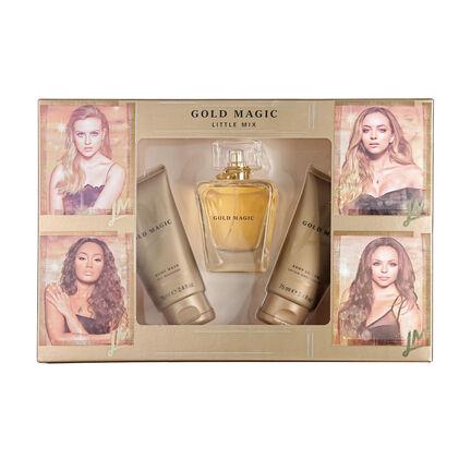 Little Mix Gold Magic EDP 100ml Gift Set, , large
