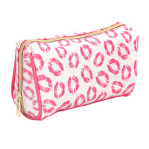 Kiss and Tell Cosmetic Bag, , large