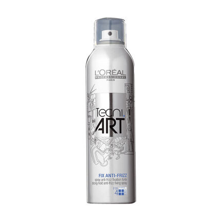 L'Oréal Tecni Art Air Fix Anti Frizz Spray Strong Hold 250ml, , large