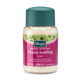 Kneipp Mineral Bath Salt Muscle Soothing Juniper 500g, , large