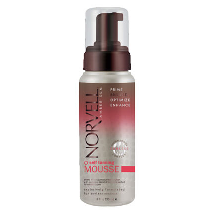 Norvell Self Tanning Mousse With Instant Bronzer 237ml, , large