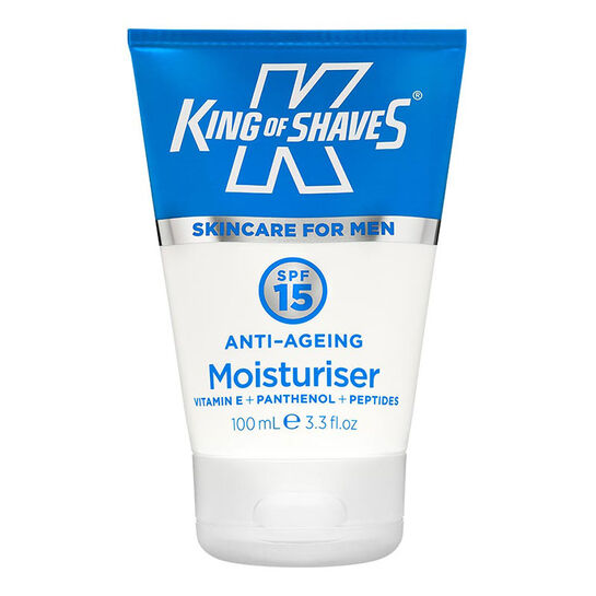 King of Shaves Anti Ageing Moisturiser SPF 15 100ml, , large