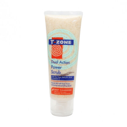 T Zone Dual Action Power Scrub 75ml, , large