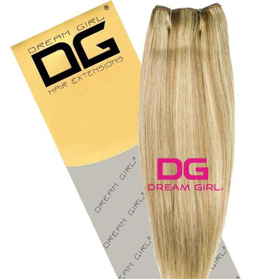 DREAM GIRL Euro Weave Hair Extensions 20 Inch P10/613, , large