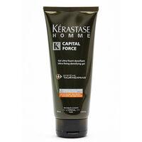 Kerastase Homme Captial Force Gel Ultra Fixant 200ml, , large