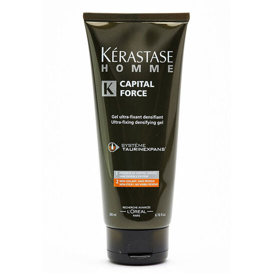 Kerastase Homme Captial Force Gel Ultra Fixant 200ml, , large