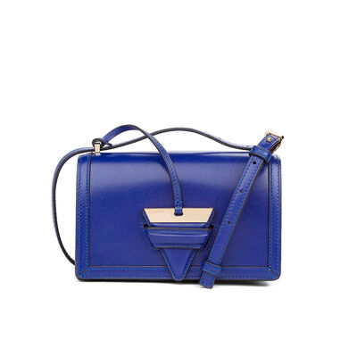 LOEWE Barcelona Small Bag Royal Blue front