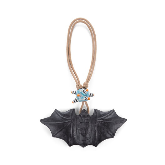 LOEWE Bat Necklace Black all