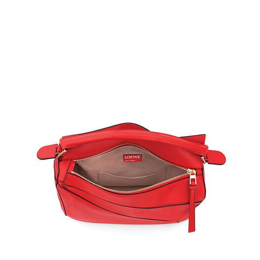 LOEWE Puzzle Bag Primary Red all