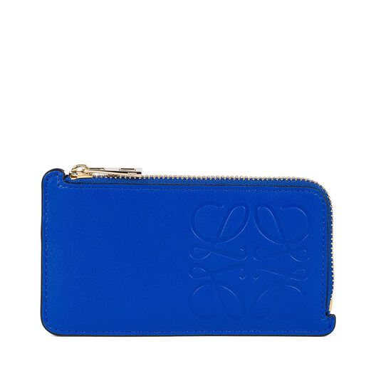LOEWE Key/Coin Holder Anagram Electric Blue all