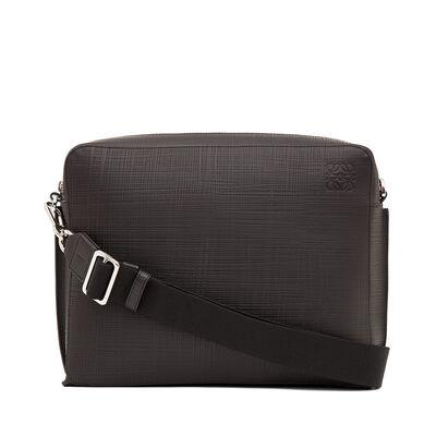 LOEWE Goya Reporter Bag Black front