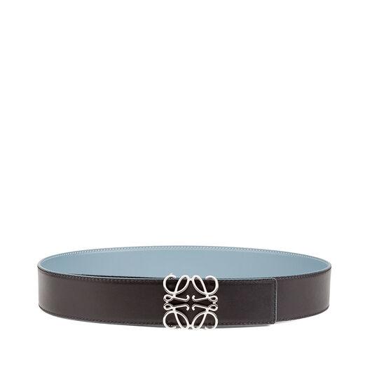LOEWE Anagram Belt 4Cm Stone Blue all