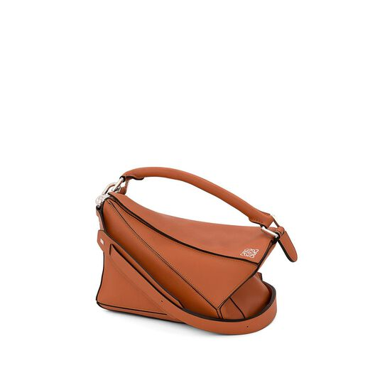 LOEWE Puzzle Small Bag Tan all