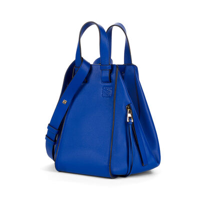 LOEWE Hammock Small Bag Electric Blue front