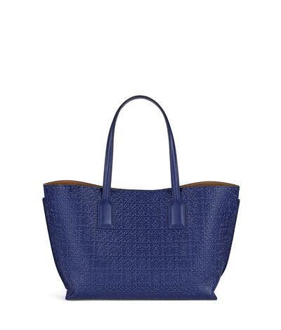LOEWE T Shopper Bag ネイビーブルー front