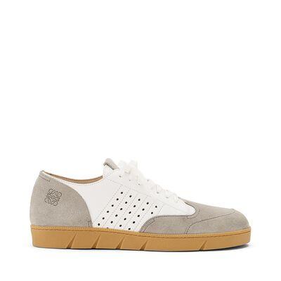 LOEWE Sneaker Light Grey/White front