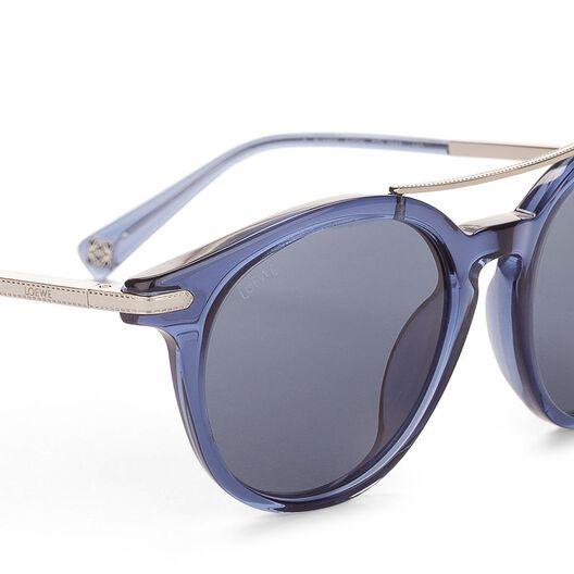 LOEWE Sunglasses Navy Blue all