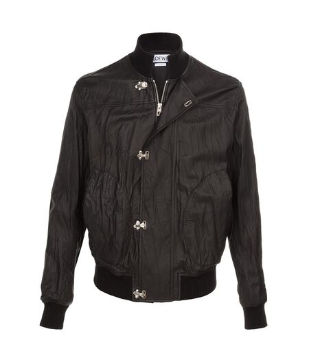 LOEWE Bomber Jacket Black all