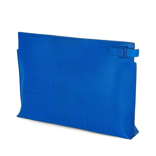 LOEWE T Pouch Electric Blue all