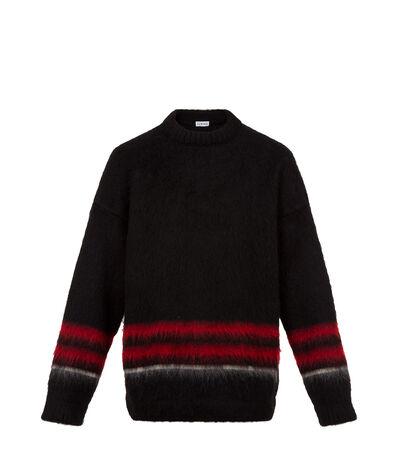 LOEWE Crewneck Sweater Mohair Black front