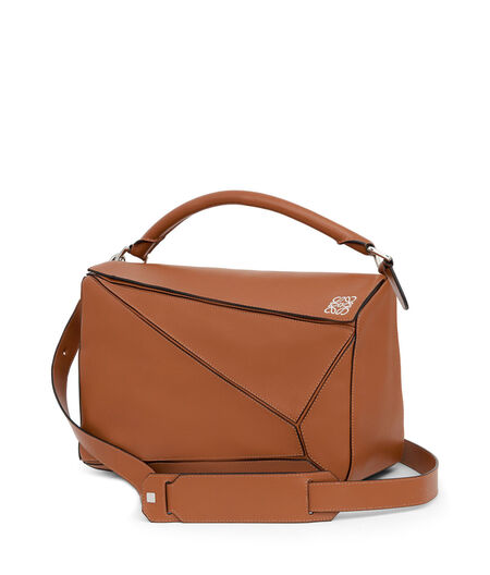 LOEWE Puzzle Large Bag Tan all