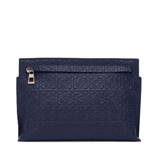 LOEWE T Mini Bag Navy Blue all