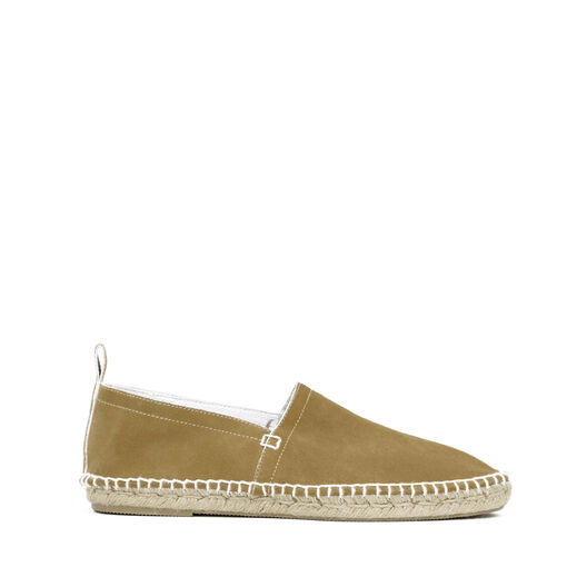 LOEWE Espadrille Suede Gold all