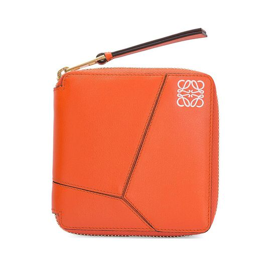LOEWE Puzzle Small Wallet Coral all