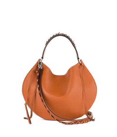 LOEWE Fortune Hobo Bag タン front