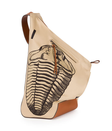 Anton Fossil Print Backpack